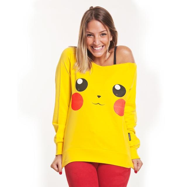 "Moletom ""Pikachu"" da Garagem Korova. Foto: Garagem Korova."
